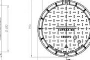 TAMPAO DN-600 ART. D-400 COPASA